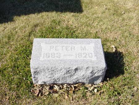 PETERSEN, PETER M - Shelby County, Iowa | PETER M PETERSEN