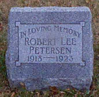 PETERSEN, ROBERT LEE - Shelby County, Iowa   ROBERT LEE PETERSEN