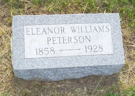 WILLIAMS PETERSON, ELEANOR - Shelby County, Iowa | ELEANOR WILLIAMS PETERSON