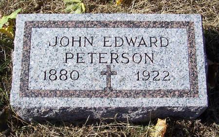 PETERSON, JOHN EDWARD - Shelby County, Iowa | JOHN EDWARD PETERSON