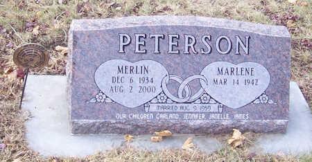 PETERSON, MERLIN - Shelby County, Iowa   MERLIN PETERSON