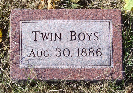 PETERSON, TWIN BOYS - Shelby County, Iowa | TWIN BOYS PETERSON