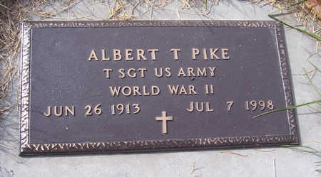 PIKE, ALBERT T. (MILITARY) - Shelby County, Iowa | ALBERT T. (MILITARY) PIKE