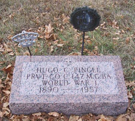 PINGEL, HUGO C. (MILITARY) - Shelby County, Iowa | HUGO C. (MILITARY) PINGEL