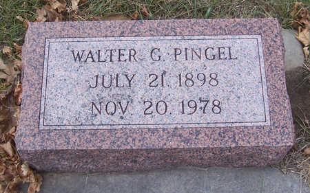 PINGEL, WALTER G. - Shelby County, Iowa | WALTER G. PINGEL