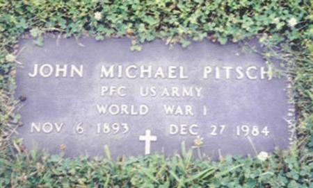 PITSCH, JOHN MICHAEL - Shelby County, Iowa | JOHN MICHAEL PITSCH
