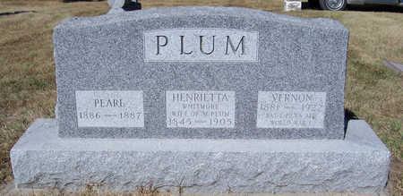 PLUM, PEARL - Shelby County, Iowa | PEARL PLUM