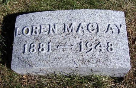 POMEROY, LOREN MACLAY - Shelby County, Iowa | LOREN MACLAY POMEROY