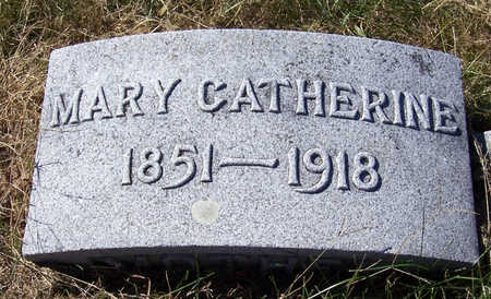 POMEROY, MARY CATHERINE - Shelby County, Iowa | MARY CATHERINE POMEROY