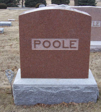 POOLE, ROLLA A. (LOT) - Shelby County, Iowa | ROLLA A. (LOT) POOLE