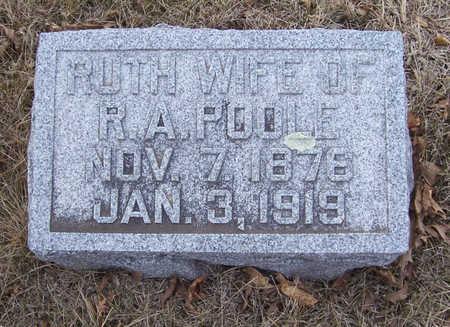 POOLE, RUTH - Shelby County, Iowa | RUTH POOLE