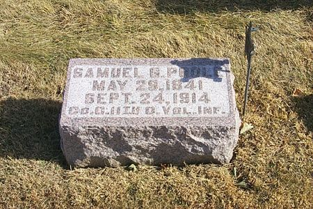 POOLE, SAMUEL G. - Shelby County, Iowa | SAMUEL G. POOLE
