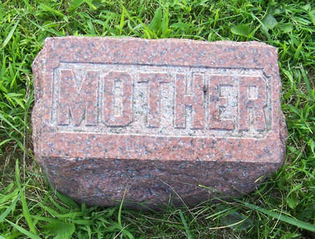 PORTER, (MOTHER) - Shelby County, Iowa | (MOTHER) PORTER