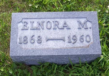 PORTER, ELNORA M. - Shelby County, Iowa   ELNORA M. PORTER