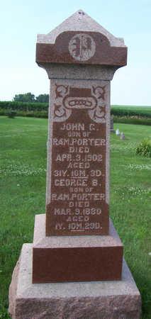 PORTER, JOHN C. - Shelby County, Iowa   JOHN C. PORTER