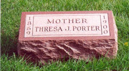 PORTER, THRESA J. - Shelby County, Iowa   THRESA J. PORTER