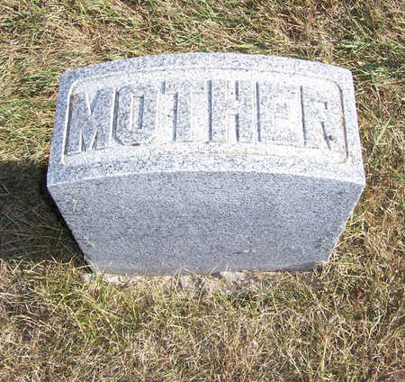 POTTER, CORA E. (MOTHER) - Shelby County, Iowa   CORA E. (MOTHER) POTTER