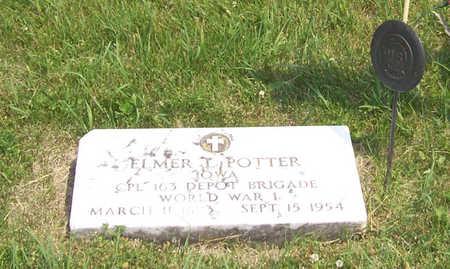 POTTER, ELMER L. - Shelby County, Iowa   ELMER L. POTTER