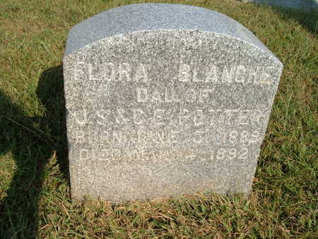 POTTER POTTER, FLORA BLANCHE - Shelby County, Iowa | FLORA BLANCHE POTTER POTTER