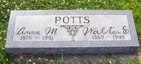 POTTS, ANNA M. - Shelby County, Iowa | ANNA M. POTTS