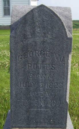 POTTS, GEORGE W. - Shelby County, Iowa | GEORGE W. POTTS