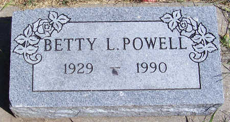 POWELL, BETTY L. - Shelby County, Iowa | BETTY L. POWELL