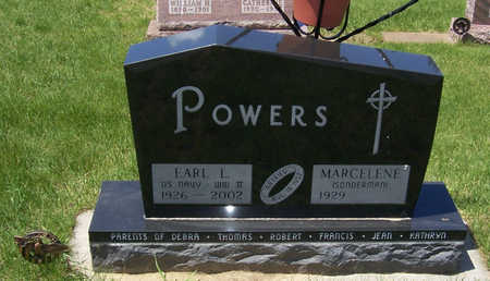 SONDERMAN POWERS, MARCELENE - Shelby County, Iowa   MARCELENE SONDERMAN POWERS