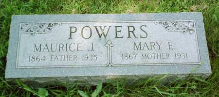 POWERS, MAURICE J. - Shelby County, Iowa | MAURICE J. POWERS