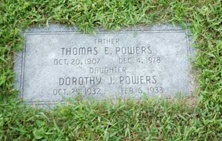 POWERS, THOMAS E. - Shelby County, Iowa | THOMAS E. POWERS