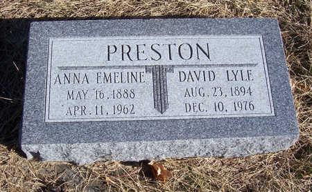 PRESTON, DAVID LYLE - Shelby County, Iowa | DAVID LYLE PRESTON