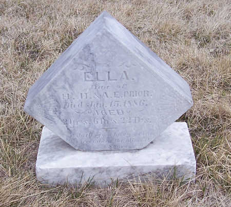 PRIOR, ELLA - Shelby County, Iowa | ELLA PRIOR