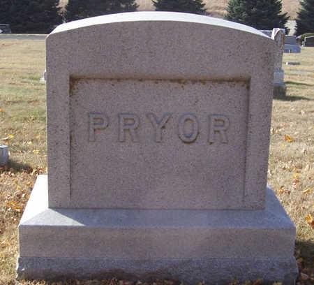 PRYOR, ARTHUR & EMMA (LOT) - Shelby County, Iowa   ARTHUR & EMMA (LOT) PRYOR
