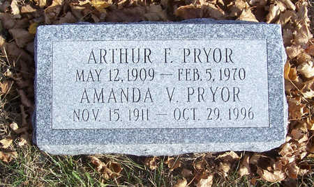 PRYOR, ARTHUR F. - Shelby County, Iowa | ARTHUR F. PRYOR