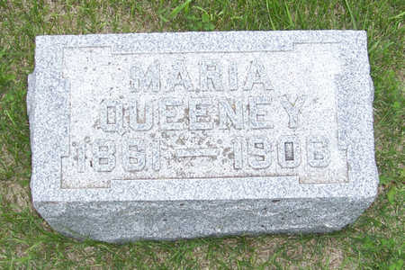 HENRY QUEENEY, MARIA - Shelby County, Iowa | MARIA HENRY QUEENEY