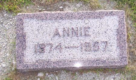QUINN, ANNIE - Shelby County, Iowa | ANNIE QUINN