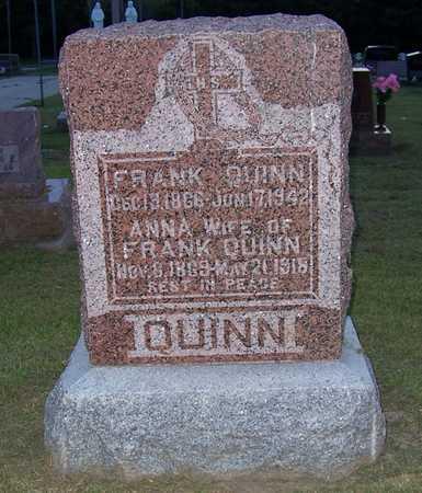 QUINN, FRANK - Shelby County, Iowa   FRANK QUINN