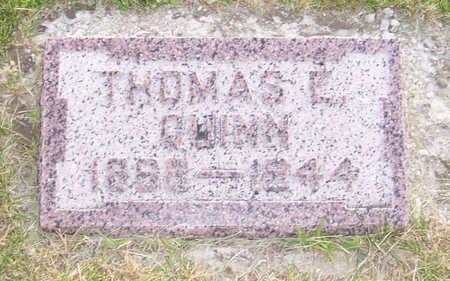 QUINN, THOMAS E. - Shelby County, Iowa | THOMAS E. QUINN