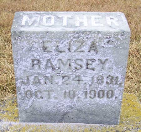 RAMSEY, ELIZA (MOTHER) - Shelby County, Iowa | ELIZA (MOTHER) RAMSEY