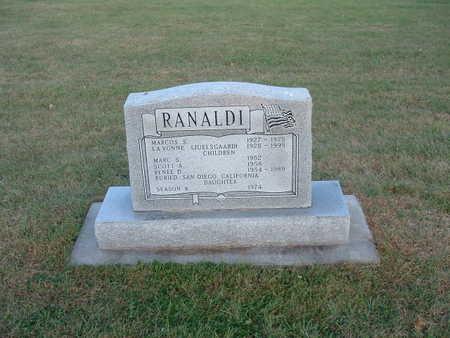 JUELSGAARD RANALDI, LA VONNE - Shelby County, Iowa | LA VONNE JUELSGAARD RANALDI