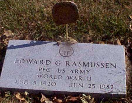 RASMUSSEN, EDWARD G - Shelby County, Iowa   EDWARD G RASMUSSEN