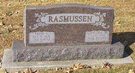 CHRISTIANSEN RASMUSSEN, CHRISTINE M. - Shelby County, Iowa   CHRISTINE M. CHRISTIANSEN RASMUSSEN