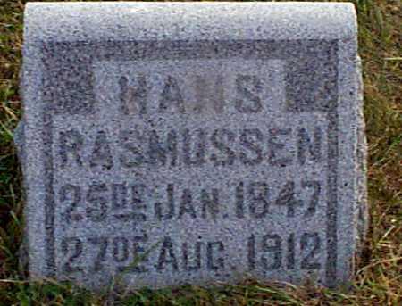 RASMUSSEN, HANS - Shelby County, Iowa   HANS RASMUSSEN