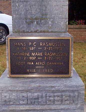 RASMUSSEN, KATHRINE MARIE - Shelby County, Iowa | KATHRINE MARIE RASMUSSEN