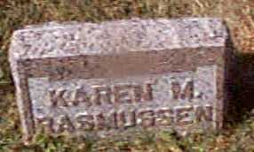 RASMUSSEN, KAREN M - Shelby County, Iowa | KAREN M RASMUSSEN