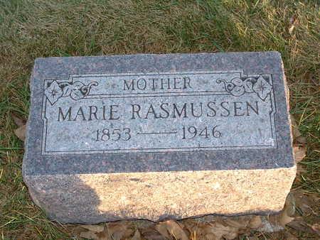 RASMUSSEN, MARIE - Shelby County, Iowa | MARIE RASMUSSEN