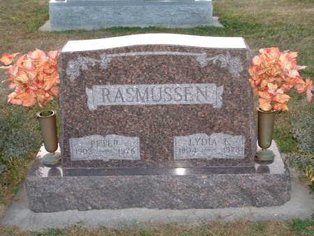 RASMUSSEN, LYDIA E - Shelby County, Iowa | LYDIA E RASMUSSEN