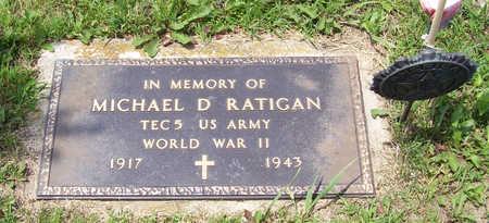 RATIGAN, MICHAEL D., JR. (MILITARY) - Shelby County, Iowa | MICHAEL D., JR. (MILITARY) RATIGAN