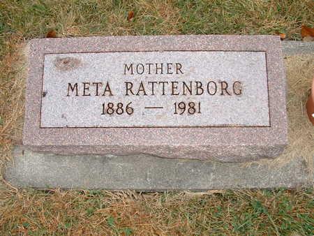 RATTENBORG, META - Shelby County, Iowa | META RATTENBORG