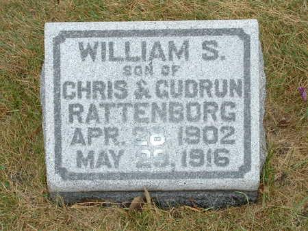 RATTENBORG, WILLIAM S - Shelby County, Iowa | WILLIAM S RATTENBORG