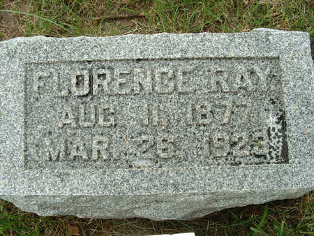 RAY, FLORENCE - Shelby County, Iowa | FLORENCE RAY